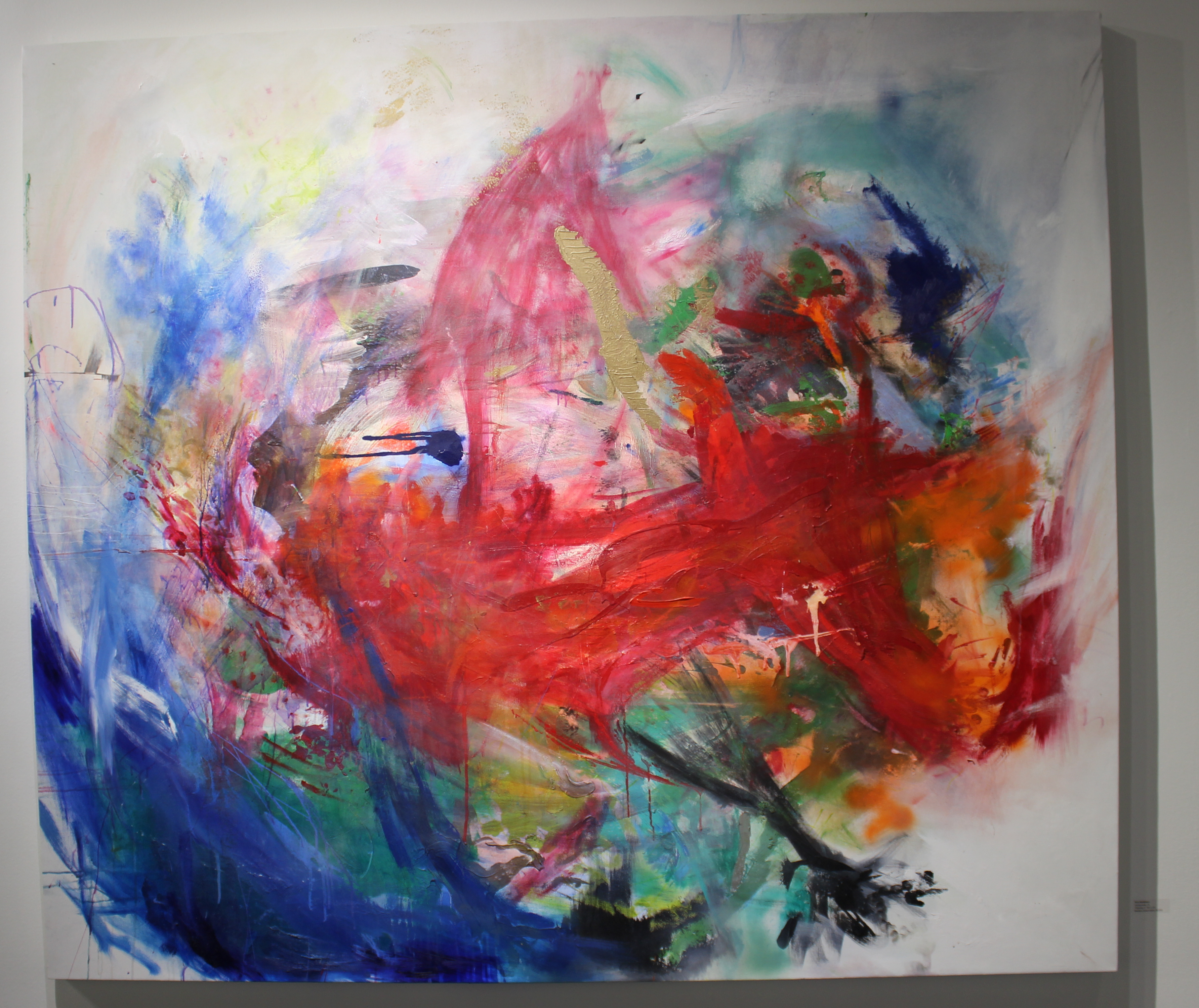 Photo of Painting A, abstract art by R Middleton